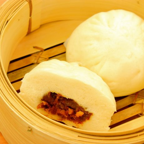 Asado Siopao (Barbequed Pork Bun) (1 pc.)