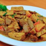 Bean Curd with Beef