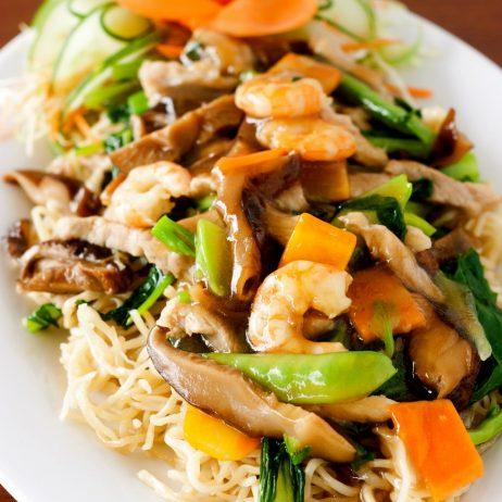 Comida China Chow Mein