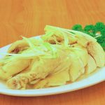 Chicken with Green Onion and Ginger